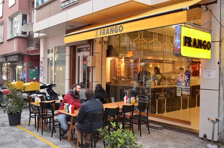Frango'da çift kişilik soslu döner yemek