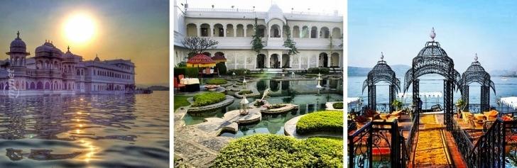 Taj Lake Sarayı, Rajasthan, Hindistan