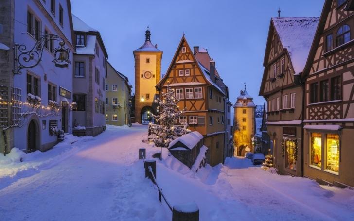 1. Rothenburg ob der Tauber, Almanya