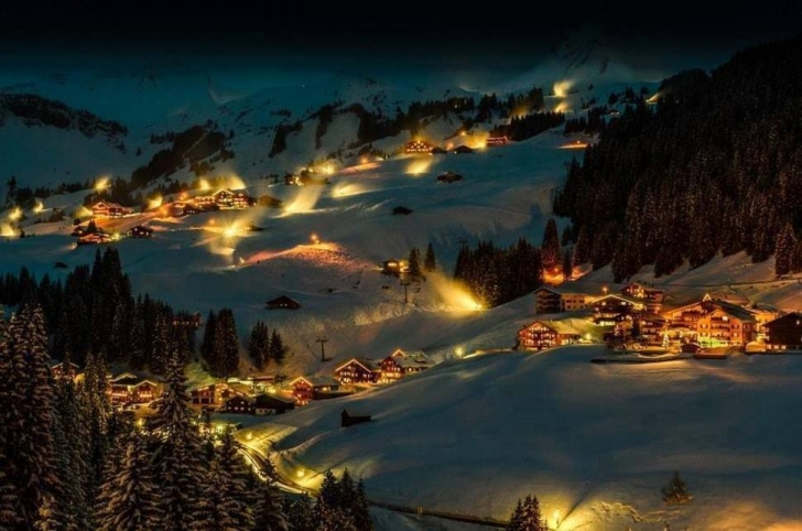 10. Damüls, Avusturya