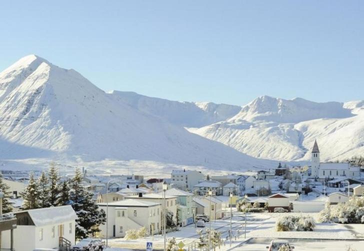 14. Siglufjörður, İzlanda
