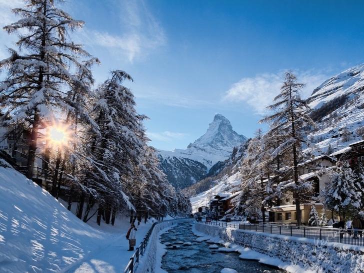 18. Zermatt, İsviçre