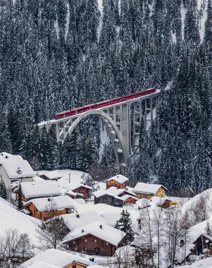 20. Langwies, İsviçre