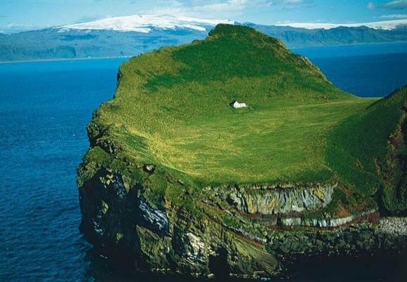 İnanılmaz manzaralı evleri