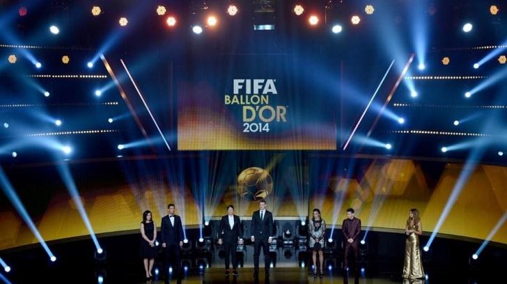 FIFA Ballon D'Or (Altın Top) Ödülleri Açıklandı