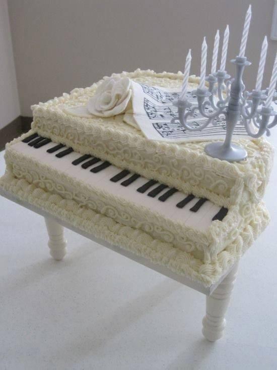 Piyano Sever Birine Hediye Edilebilecek 8 Aşırı Güzel Pasta Önerisi