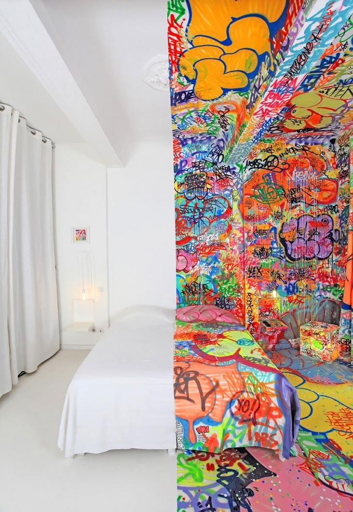 9. Yarı Grafitti Odası - Fransa