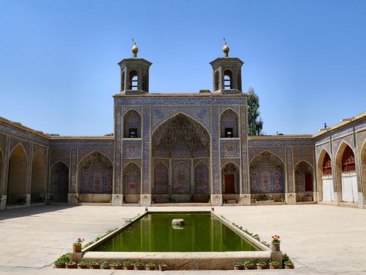 10. Nasır El-Mülk Cami (Pembe Cami) - Şiraz, İran
