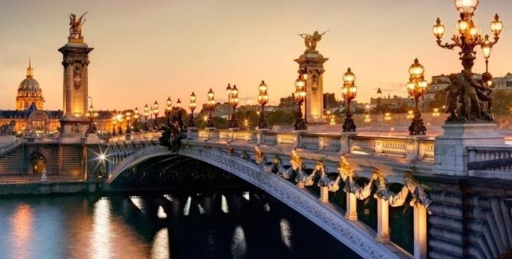 3. Alexandre III Köprüsü - Paris, Fransa