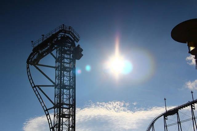 Japonya'daki Takabisha roller coaster'ına binmek