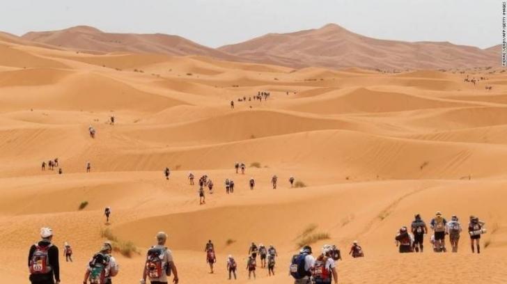 Fas'ta Sable Maratonu'na katılmak