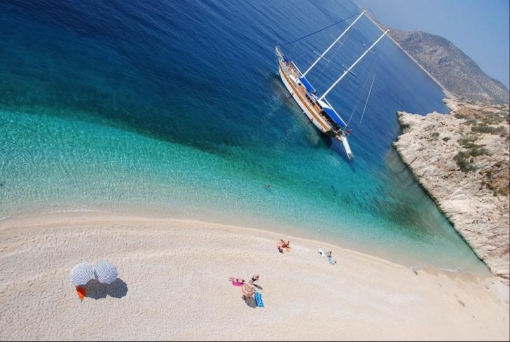 5. Kaputaş Plajı