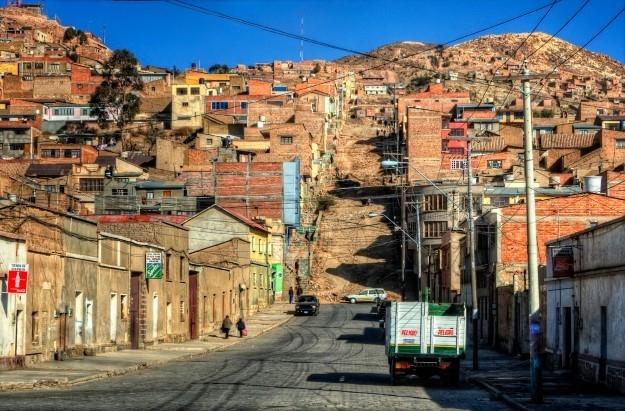 Oruro - 3706 metre