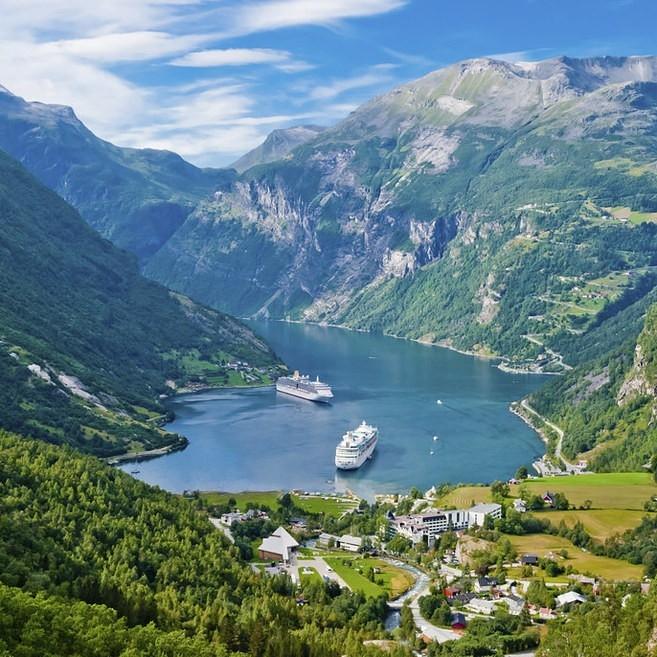 1. Norveç Fiyortları