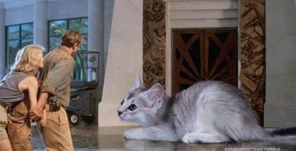 Biri Jurassic Park'taki Tüm Dinazorların Yerine Kedi Koydu