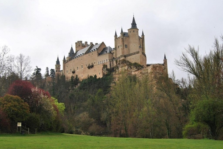 Alcázar of Segovia - İspanya