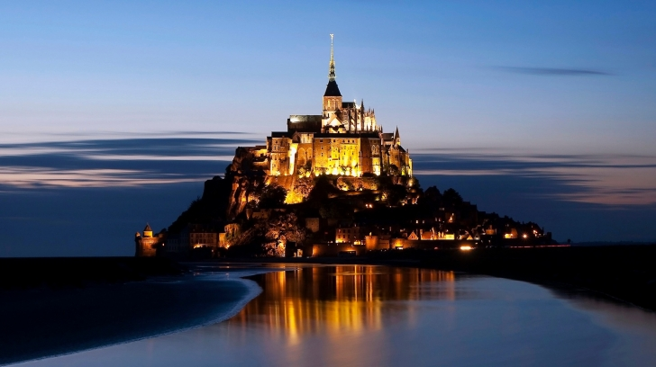 Mont Saint Michel - Fransa