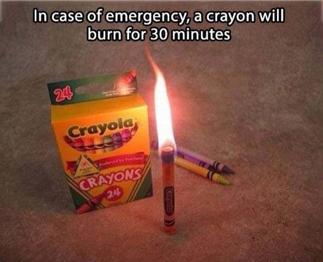 3. Acil durumlar için: pastel boya 30 dakika boyunca yanar.