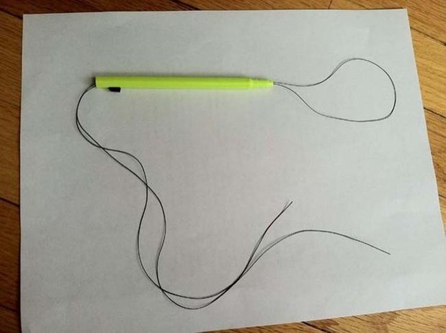 20. Keneleri çıkarmak için uçlu kalem ve ince bir tel kullanın.