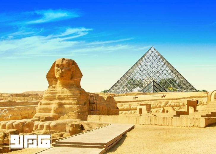 Louvre Müzesi - Fransa / Keops Piramidi - Mısır