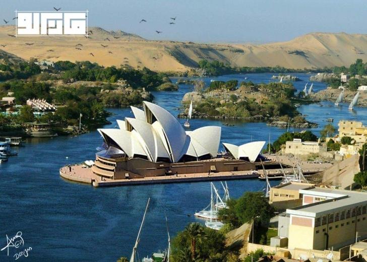 Sydney Opera Binası - Avustralya / Aswan - Güney Mısır