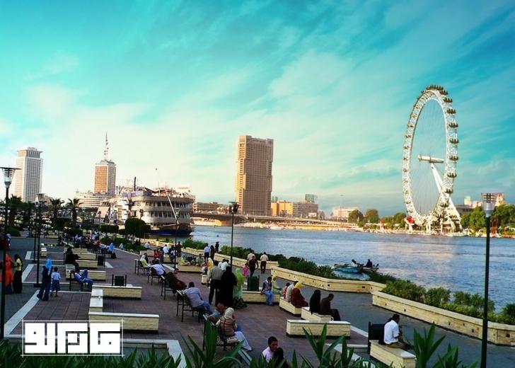 London Eye dönme dolabı - İngiltere / Nil Nehri - Mısır