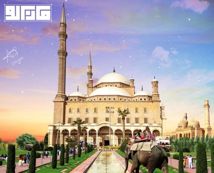 Salah Ed-Din Kalesi - Mısır  / Taj Mahal - Tac Mahal
