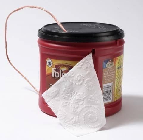 3. Tuvalet kağıdı kutusu yapın.