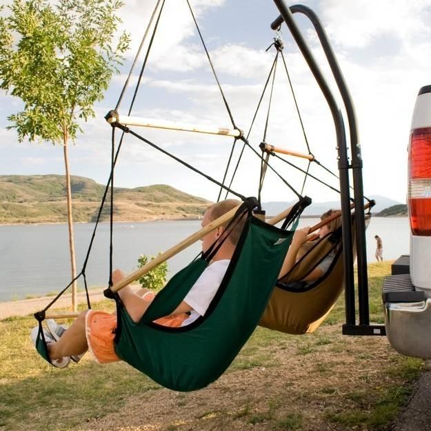 8. Arabanızın arka kısmına bu harika koltukları kurun ve manzaranın keyfini çıkarın.