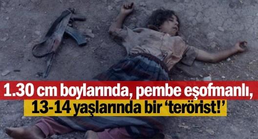 Pembe Eşofmanlı, 13-14 Yaşlarında Bir Terörist!