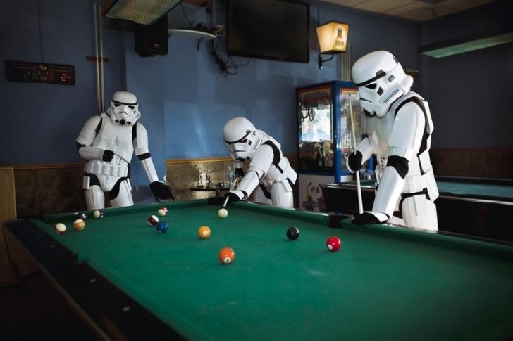 Bir Stormtrooper'ın Gündelik Yaşamı Nasıl Hiç Düşündünüz Mü?