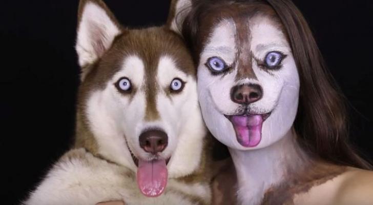 Makyaj Sanatçılarına Hayranlığımıza Devam Ediyoruz: Kendini Köpeğe Dönüştüren YouTube Fenomeni Ilana ile Tanışın! (Video)