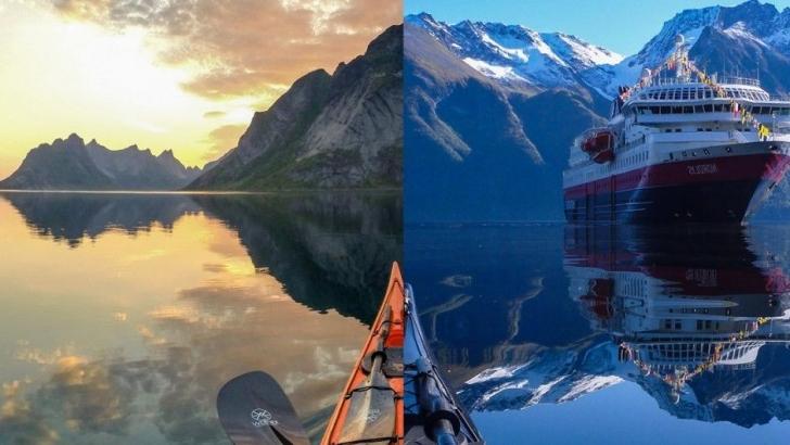 Norveç Gölleri'nde Bir Kano İle Cennetin İçine Yolculuk