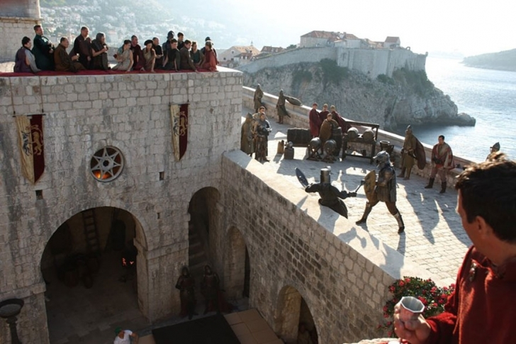 Lovrijenac Kalesi (Dubrovnik) – Red Keep (King's Landing)