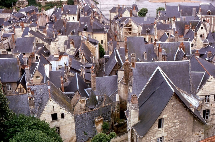 Chinon Köyü - Fransa