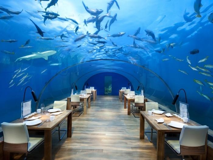 1. Hilton's Conrad Maldives Rangali Island Resort (Maldivler)