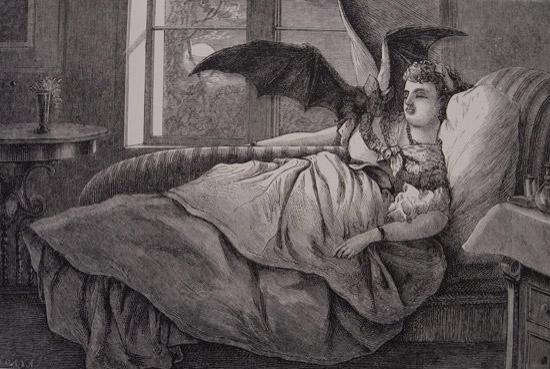 Peki kan içen ölü cadılar?