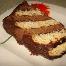 İki Renkli Pasta
