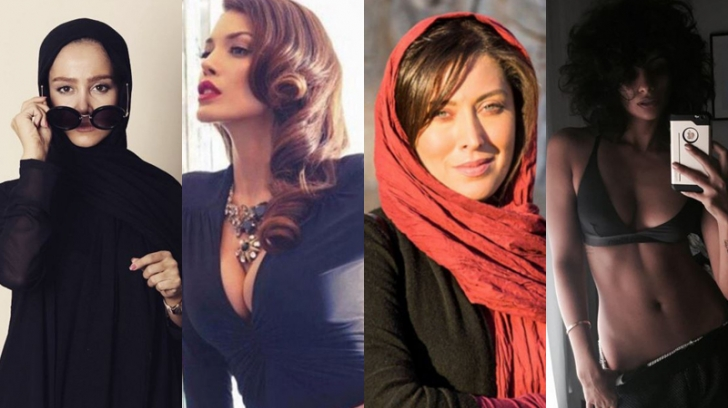 """Doğu-Batı Sentezinin Ne Kadar """"Güzel"""" Olduğunun Kanıtı İran Asıllı 10 Muhteşem Kadın"""