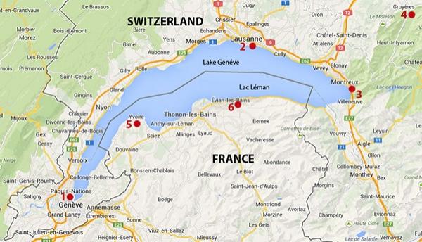 """Bu bölgeye ve göl çevresindeki gezilebilecek yerlere ait rota tavsiyesine""""Google Maps""""haritasından bir bakalım..."""