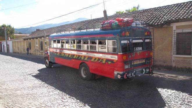 Guatemala'da Ulaşım