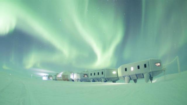 Antarktika'da Uzay Yolculuğuna Hazırlanmak