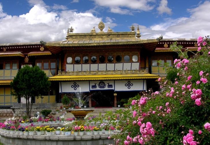 Dalai Lama'nın yazlık evi
