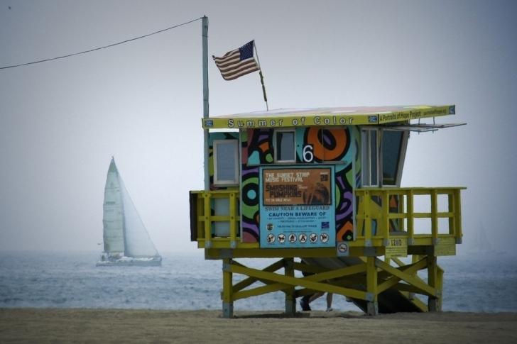 8. Santa Monica, ABD