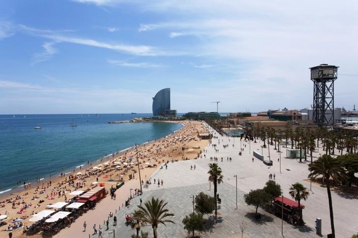 4. Barceloneta, İspanya