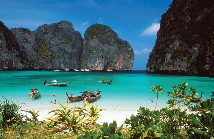 6. Ko Phi Phî Leh, Tayland