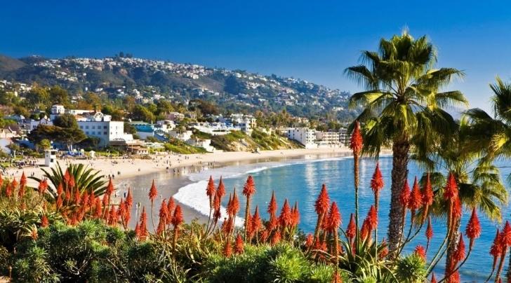 7. Laguna Plajı, Kaliforniya