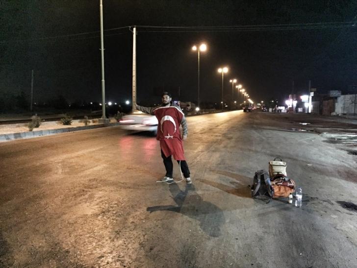 Iran'da otostop çekmek yasak mı ?