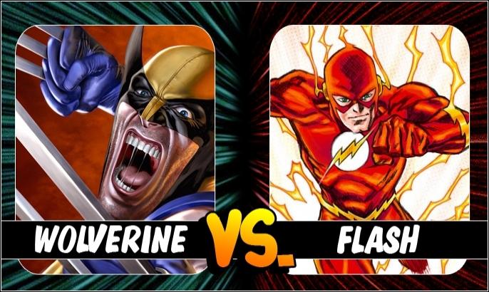 Marvel - DC Kapışmasında 2. Round: Wolverine vs The Flash