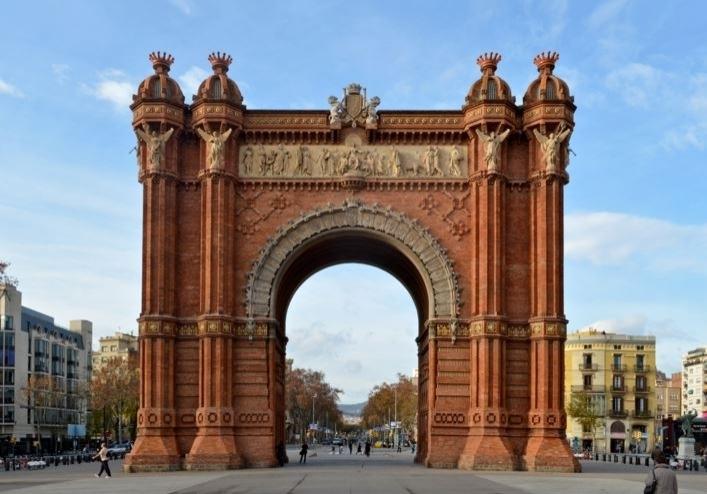 Arc de Triomf - Parc Citudella